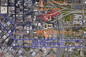 Map Of Atlanta And Surrounding Areas by In Atlanta U0027s Downtown Crescent Positive Changes Abound Curbed