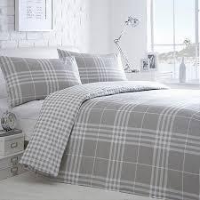 Duvet Covers Debenhams Home Collection Basics Grey Checked U0027hugo U0027 Bedding Set Debenhams