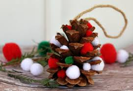 this pinecone ornaments craft happy mothering