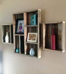 shelves shelf ideas danya b intersecting espresso color wall