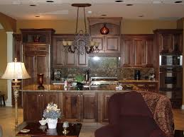 Black Walnut Kitchen Cabinets Amazing Brown Walnut Kitchen Cabinets Features Door