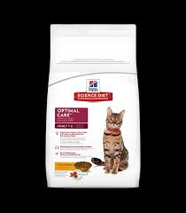 hill u0027s science diet feline optimal care 1 6 chicken recipe