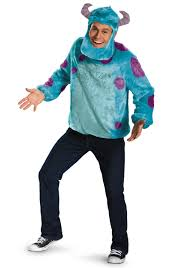 monsters inc costumes monsters inc plus size deluxe sulley costume