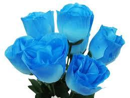 turquoise roses ya ya silk buds 84 pk size