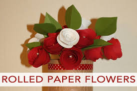 101 days of christmas rolled paper flower arrangement life your way