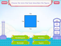 identify quadrilaterals worksheets third grade math