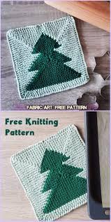 free knitting pattern christmas tree dishcloth christmas tree potholder free pattern