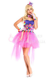 madonna halloween costumes ladies circus jester clown fancy dress princess halloween costume