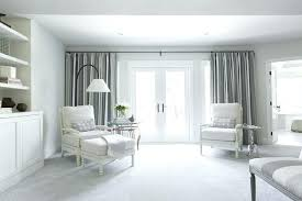 Curtains White And Grey Curtain Bedroom Aciu Club