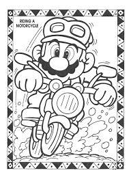 mario bros books coloring