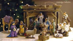 nativity sets says nativity i this with the children putting