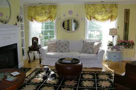 Living Room Curtain Ideas by Living Room Yellow Ballon Curtain For Living Room Curtain Ideas