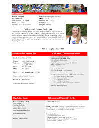 soccer coach resume example soccer profile template pin soccer coaching resume picture to best photos of college profile template student athlete profile