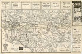 Phoenix Traffic Map by Citydig An Auto Road Map From When L A Was Traffic Free Los