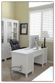 hemnes desk minus one pedestal plus hemnes sofa table plus glass
