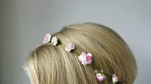 flower headbands diy diy burnt flower headband crafthubs