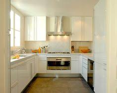 U Shape Kitchen Design Small Kitchen Design White U Shaped Kitchen Black Countertops Wood