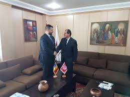 chambre de commerce tunisie réunion avec mounir mouakhar président de la chambre de commerce et