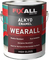 wearall alkyd enamel fixall paint