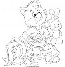 puss boots movie coloring pages colouring print