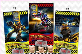 transformers birthday party invitations simple image gallery