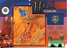map usa utah usa utah remembering letters and postcards