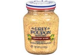 ground mustard grey poupon harvest coarse ground mustard 8 oz jar kraft recipes