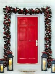 New Year Outdoor Decoration Ideas by 29 Best Christmas Front Door Decorating Ideas Images On Pinterest