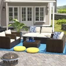 Wicker Outdoor Patio Furniture Wicker Patio Furniture You Ll Wayfair