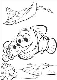 Printable Nemo Coloring Pages Coloring Me Nemo Color Pages