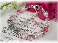 baby rosary addictivejewelry baby baptism jewelry communion jewelry