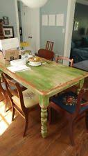 Primitive Kitchen Table by Pine Rustic Primitive Dining Tables Ebay