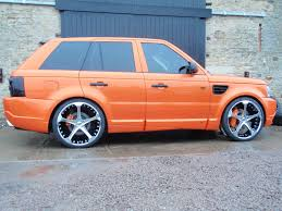 orange range rover rimcityuk 2008 land rover range rover sport specs photos