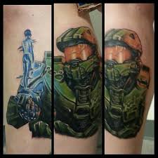 freaking awesome halo done by mattie macabre tymeless