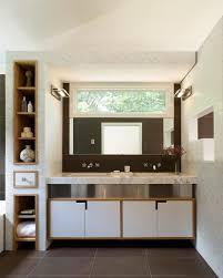 Storage Mirror Bathroom by Photos Hgtv Sleek Bathroom With Storage Tower Loversiq