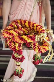 flowers garland hindu wedding colorful hindu wedding flower garlands in jersey city nj indian