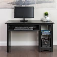 Black Computer Desk Prepac Black Desk Bdd 2948 The Home Depot