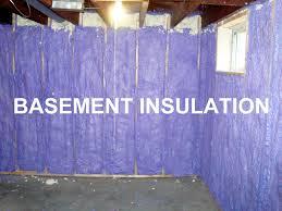 Spray Foam Insulation For Basement Walls by Basement Basement Insulation