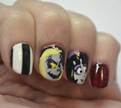 halloween nails nails the final frontier
