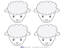bird mask template printable sheep free journal templates