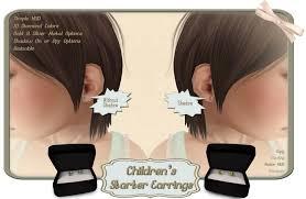 starter earrings second marketplace adore children s starter earrings