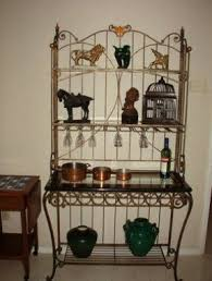 Bakers Rack Wrought Iron Wrought Iron Bakers Rack Foter