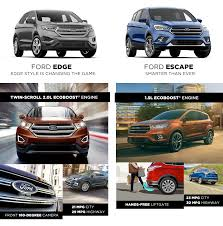 Ford Escape Features - ford edge vs ford escape ford dealership in apopka fl