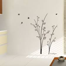 online get cheap simple mural aliexpress com alibaba group simple and elegant tree butterfly wall stickers for living room kids room bedroom home decor 3d vinyl diy wall decal mural art