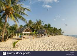 tropicana bungalows truong beach phu quoc island vietnam stock