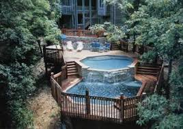 Multi Level Backyard Ideas Deck Ideas Following The Site Up Or Down Howstuffworks