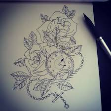 28 best clock girly tattoos images on pinterest cherries