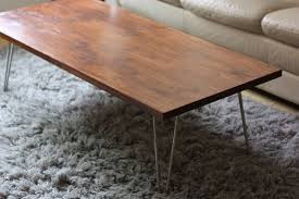 hairpin coffee table legs nice round coffee table for unique