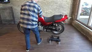 pedana sposta moto honda seven fifty constands carrello sposta moto