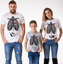 Maternity Skeleton Halloween Costumes by Halloween Family Shirts Skeleton Shirts Maternity Shirt